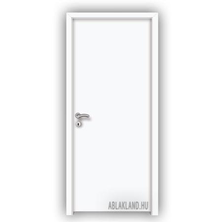 90x210 Dekor Beltéri Ajtó, Tele, Nyíló- vagy Tolóajtó, Fehér, SortiDoor 001SZD