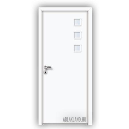 CPL Beltéri Ajtó, Üveges, Nyíló- vagy Tolóajtó, Fehér, SortiDoor 025