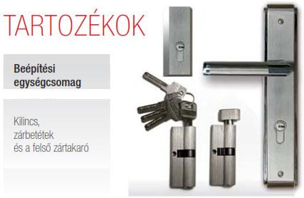 Biztonsági Ajtó, Dió, Stopsol üveges, Kültéri, SteelSafe Premium 09