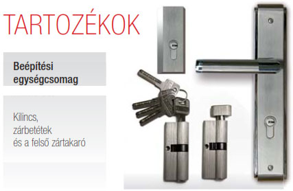 Biztonsági Ajtó, Fehér, Tele, Kültéri, SteelSafe Premium 02