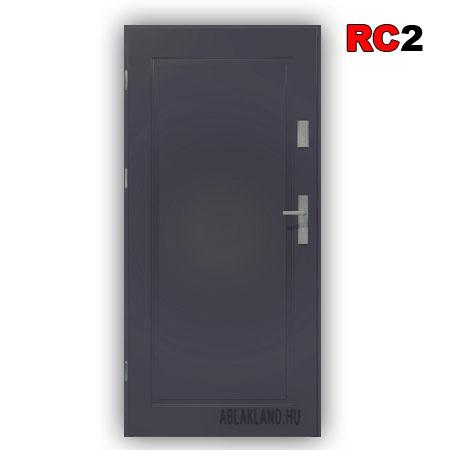 Biztonsági Ajtó, RC2 osztály, Antracit, Tele, Kültéri, SteelSafe Premium 53