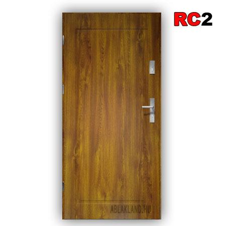 Biztonsági Ajtó, RC2 osztály, Aranytölgy, Tele, Kültéri, SteelSafe Premium 53