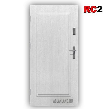 Biztonsági Ajtó, RC2 osztály, Fehér, Tele, Kültéri, SteelSafe Premium 53