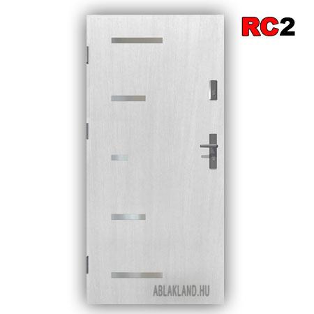 Biztonsági Ajtó, RC2 osztály, Fehér, Tele, Kültéri, SteelSafe Premium 57