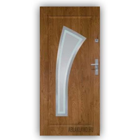 Biztonsági Ajtó, Winchester, Homokfúvott üveges, Kültéri, SteelSafe Premium 10
