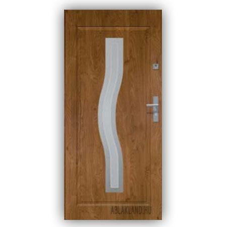 Biztonsági Ajtó, Winchester, Homokfúvott üveges, Kültéri, SteelSafe Premium 16