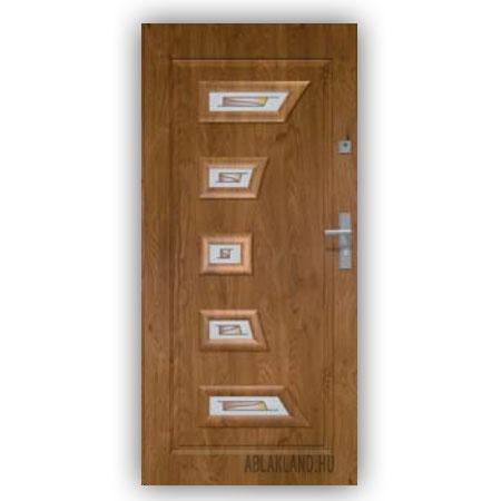 Biztonsági Ajtó, Winchester, Mintás üveges, Kültéri, SteelSafe Premium 23