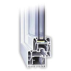 90x120 Műanyag ablak, Egyszárnyú, Fix Ablakszárnyban, Cast.C