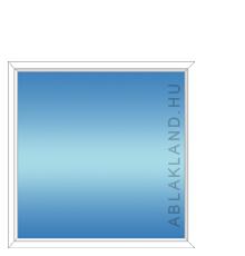 120x120 Műanyag ablak, Egyszárnyú, Fix, Cast.E