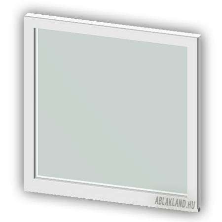 90x120 Műanyag ablak, Egyszárnyú, Fix, Force