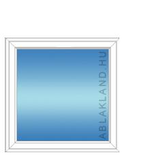 120x120 Műanyag ablak, Egyszárnyú, Fix Ablakszárnyban, Neo Iso