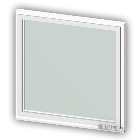 90x120 Műanyag ablak, Egyszárnyú, Fix Ablakszárnyban, Cast.E