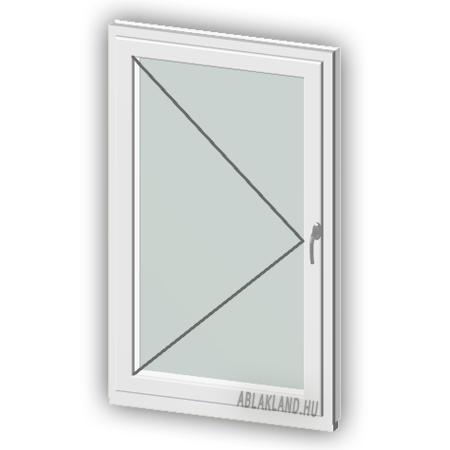 60x120 Műanyag ablak, Egyszárnyú, Nyíló, Force+