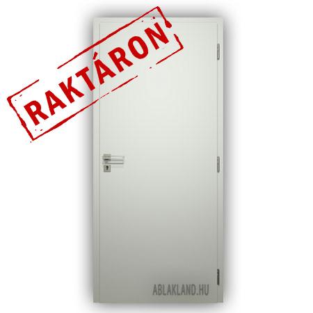 90x210 Dekor Beltéri Ajtó Raktárról, Fehér, Tele, SortiDoor Rapid 002