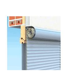 90x210 Alumínium redőny és szúnyogháló, külső tokos, Owal Duo