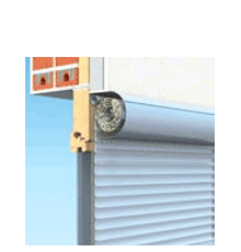 90x150 Alumínium redőny és szúnyogháló, külső tokos, Owal Duo