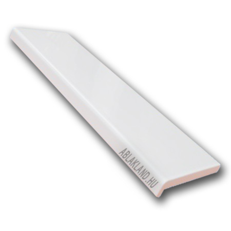 Műanyag párkány fehér 350mm széles