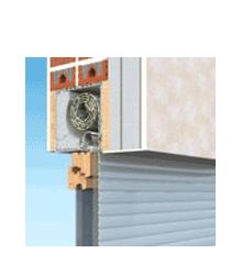 90x150 Alumínium redőny és szúnyogháló, Ráépíthető tokos, Alutop Duo