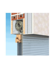 90x120 Alumínium redőny és szúnyogháló, Ráépíthető tokos, Alutop Duo