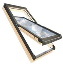 78x98 Tetőtéri ablak ajándék burkolókerettel, Winlight
