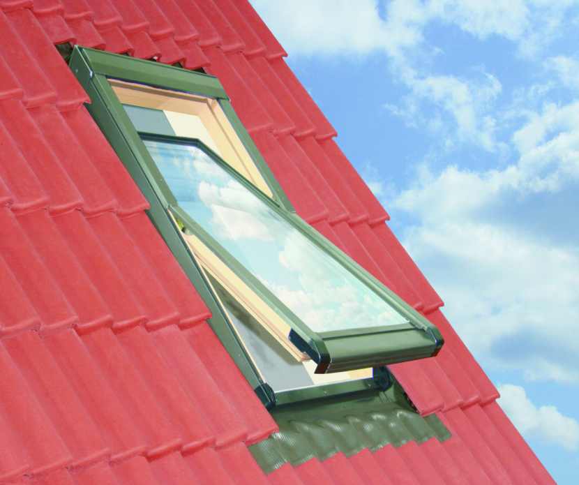 66x98 Tetőtéri ablak szellőzővel és ajándék burkolókerettel, Winlight Air