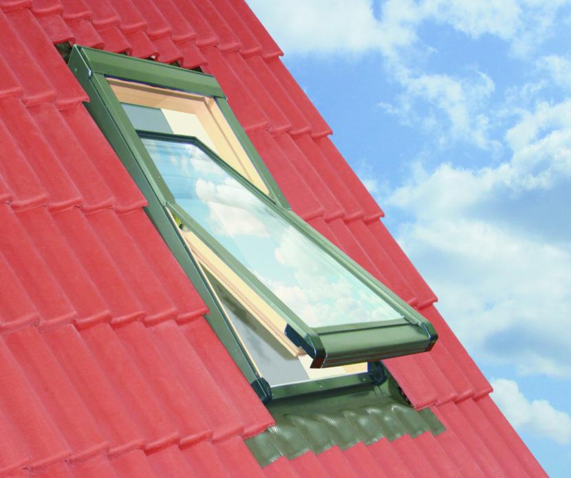 78x98 Tetőtéri ablak szellőzővel és ajándék burkolókerettel, Winlight Air