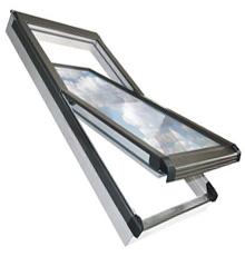 78x118 Műanyag tetőtéri ablak ajándék burkolókerettel, Winlight PVC