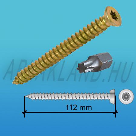 Tokrögzítő csavar 7,5mm x 112mm